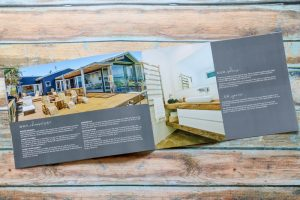 SEE Business Solutions – Brochure design – custom paper size