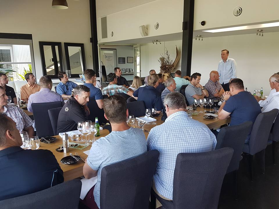 SEE BMW Suppliers Tour – Lunch time!