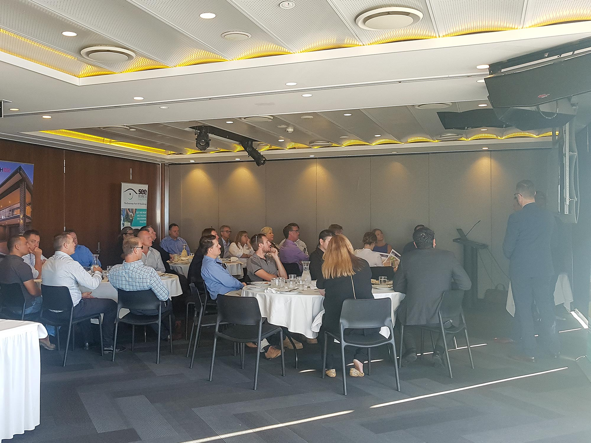SEE Business Solutions – Spec Housing Breakfast at Merewether Surfhouse
