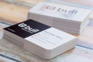 Bull Building business cards